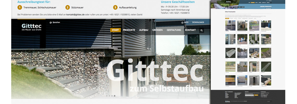 Homepage für handelspartner